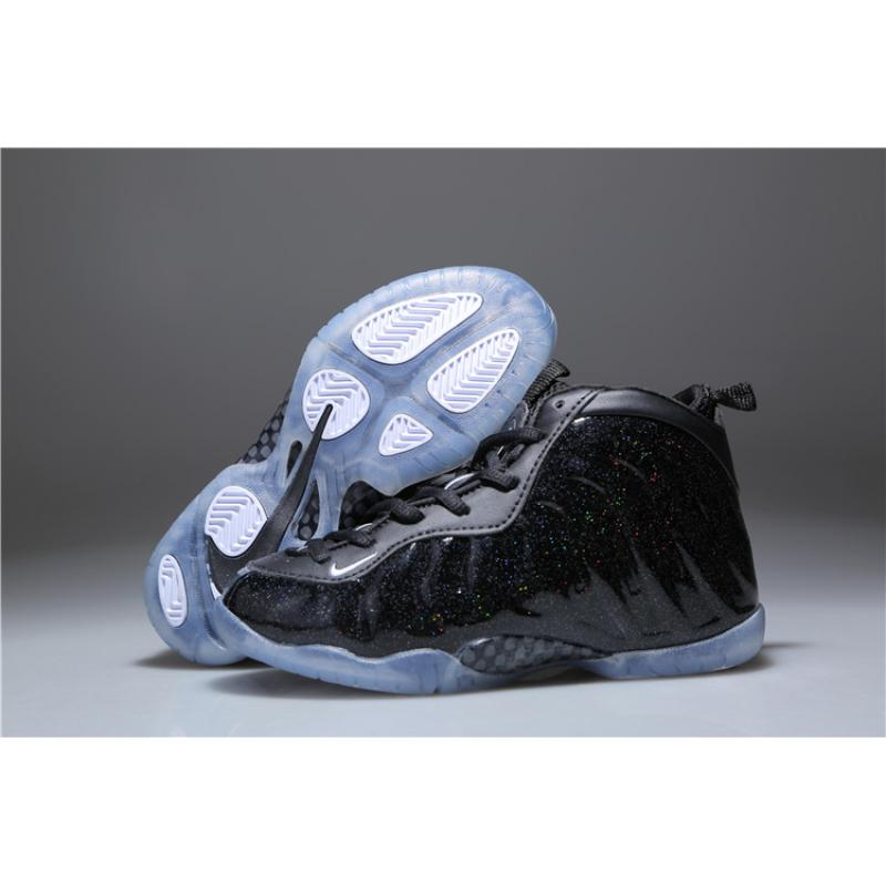 differently 6ef94 73e39 2020 New Year Deals Nike Air Foamposite One 'Stealth' Black For Kids