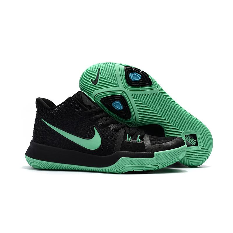 12f52e6e6 Discount Girls Nike Kyrie 3 Black Grass Green ...