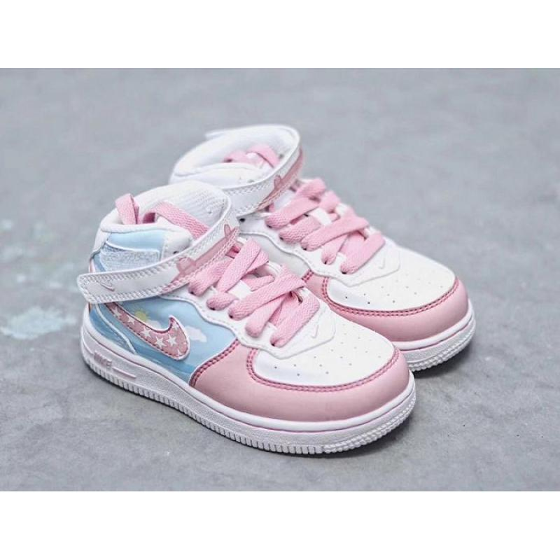 official photos a91a0 09404 Top Deals Kids Nike Air Force 1 Sneakers SKU 45773-280 ...