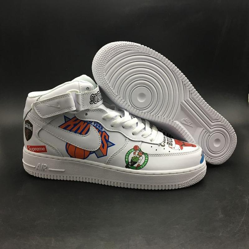 new styles 3782e 33ac1 Big Deals Men Supreme X NBA X Nike Air Force 1 Mid SKU:13474-277