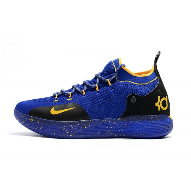super popular 29eb3 a067d Kevin Durant s New Nike KD 11 Purple Black Yellow Basketball Shoes New  Release ...