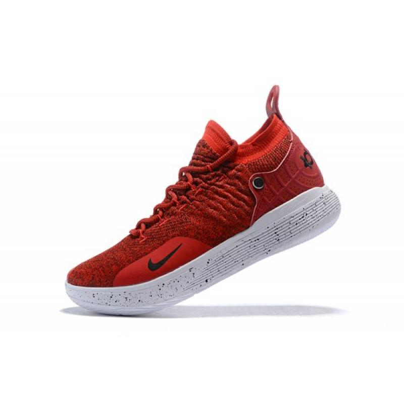 41621451ab14 Nike KD 11 Gym Red White-Black Men s Basketball Shoes Outlet ...