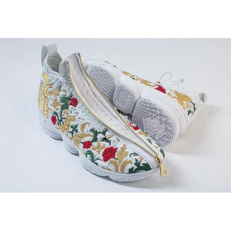 3a35660d9a0 KITH X Nike LeBron 15  Floral  New Release ...
