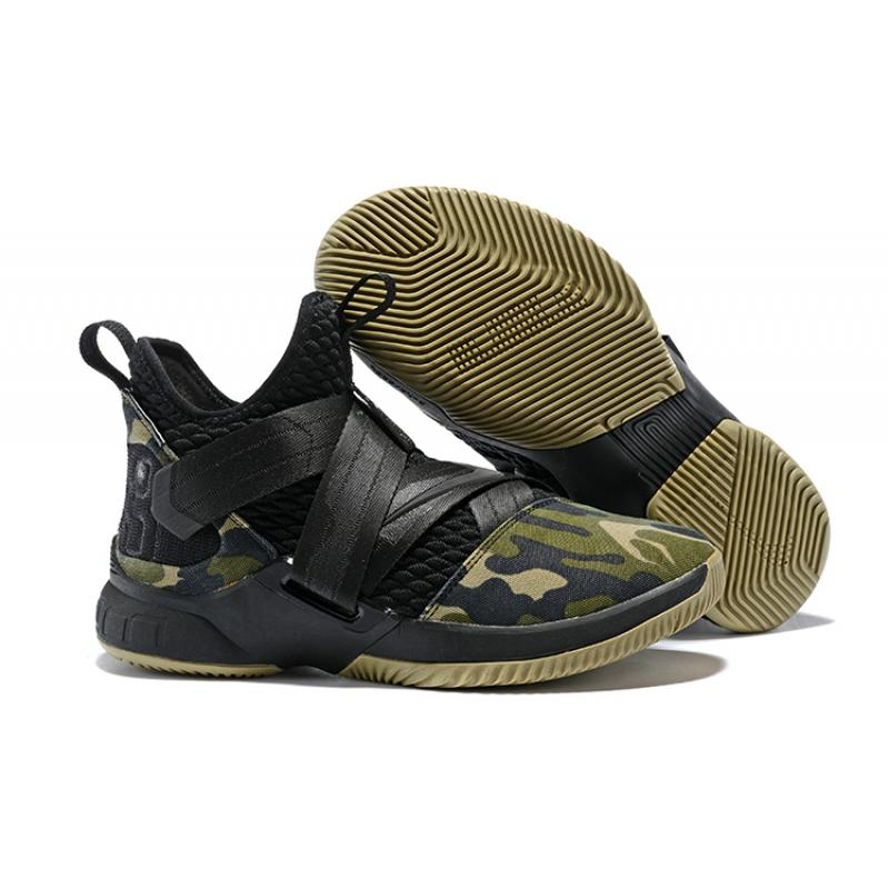 4174a73473b6 ... basketball shoes in 6b2bd a69de  official nike lebron soldier 12 sfg  camo black black hazel rush best df9bd 92361