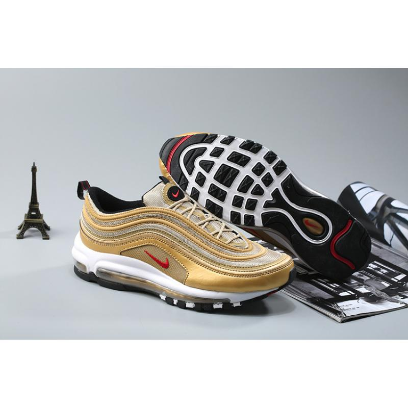 new style ccc41 d2438 Best Nike Air Max 97 OG Metallic Gold And Varsity Red-White-Black ...