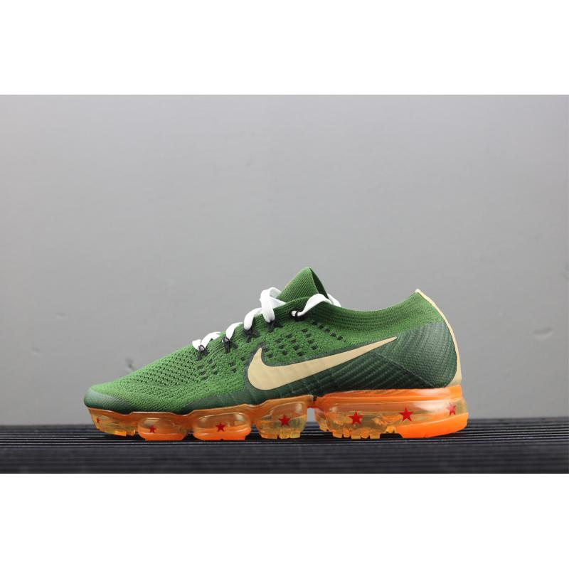 988ba7ccf34 Nike Air VaporMax 2.0 Custom Green Orange New Year Deals ...