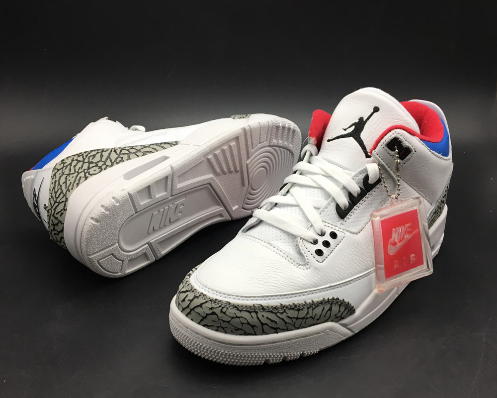 the best attitude dd0c9 83914 Air Jordan 3 'Seoul' White/Soar-Atom Red Latest