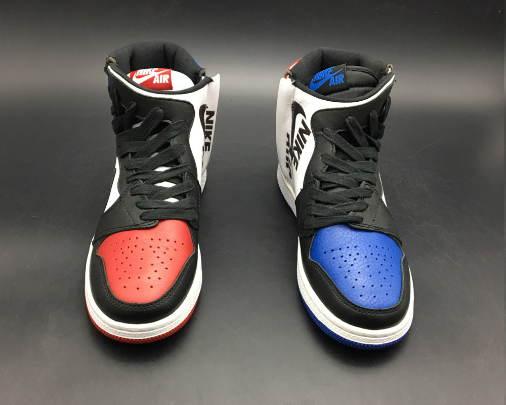 2d6bf546fb3 Outlet Air Jordan 1 Rebel 'Top 3' White/Black-Varsity Red-Varsity ...