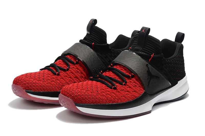 on sale 3a0ee e84c6 Jordan Trainer 2 Flyknit Black Gym Red-White New Year Deals