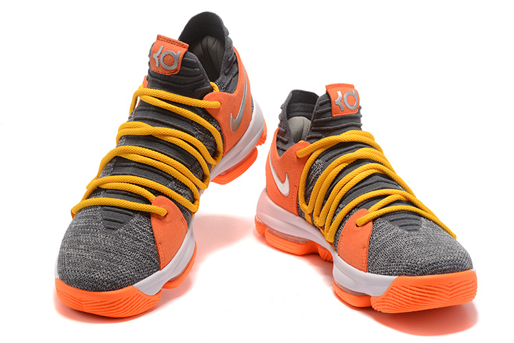 a65e05c656a7 Buy Now Nike KD 10 EP Cool Grey Orange