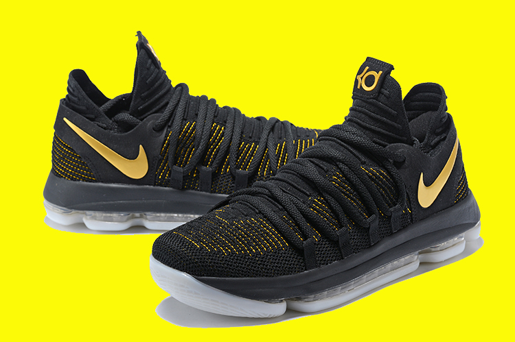 info for 47ac7 82d70 2020 Best Nike KD 10 Black And Yellow