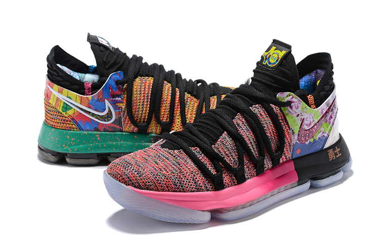 """Nike KD 10 """"What The"""" PE NBA Finals New Release c147cf441d"""