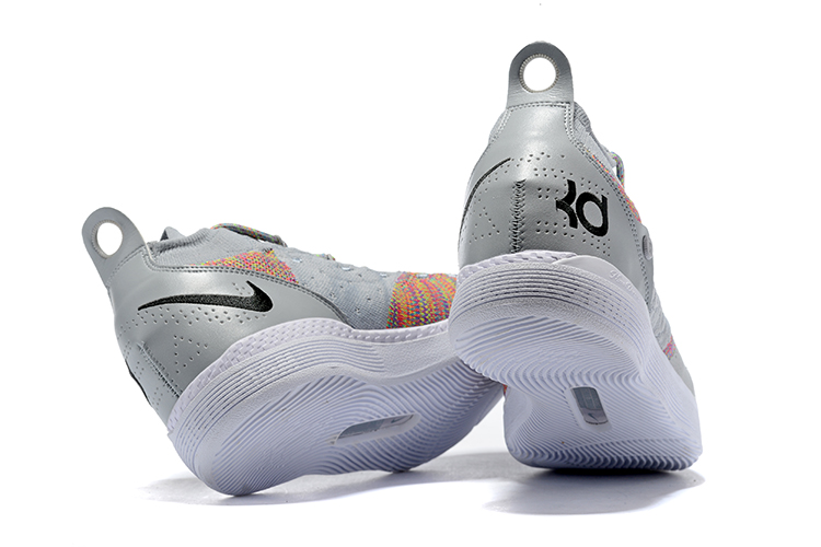 ce2862c92a8 New Nike KD 11 Cool Grey Multi-Color Men s Basketball Shoes New Style