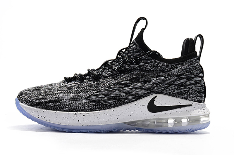 2c3ff9f9106b 23324 f7977  official discount nike lebron 15 low oreo black white 7d4e5  36d29