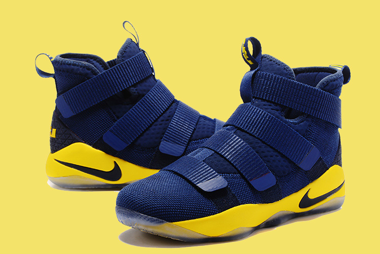 Nike LeBron Soldier 11 Deep Blue And