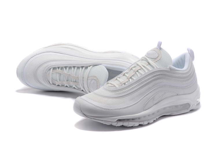 094e3d82df 2020 New Year Deals Nike Air Max 97 'Triple White' White And Wolf Grey