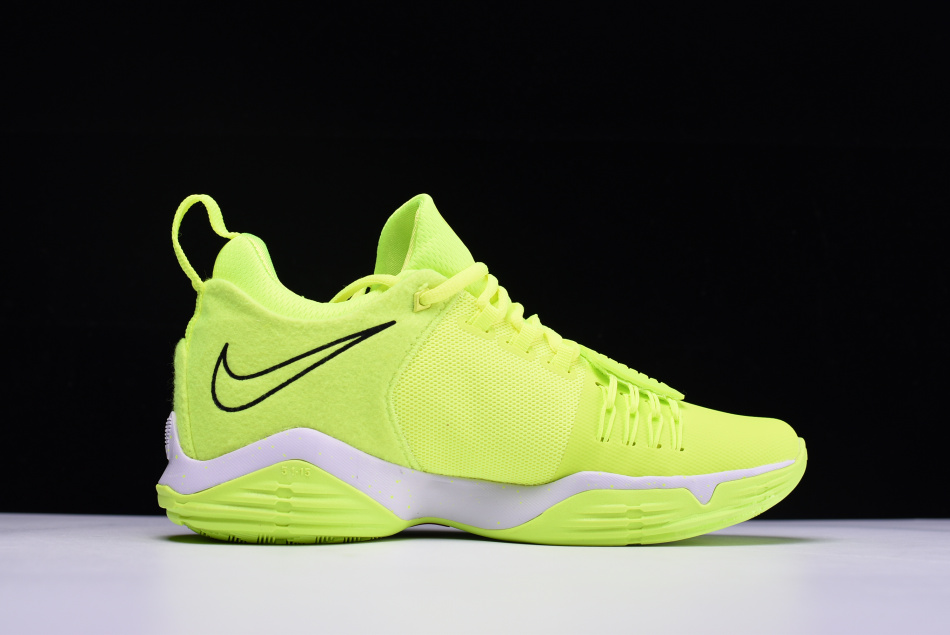 6c94f16d676 Nike PG 1 Neon Volt And White Top Deals