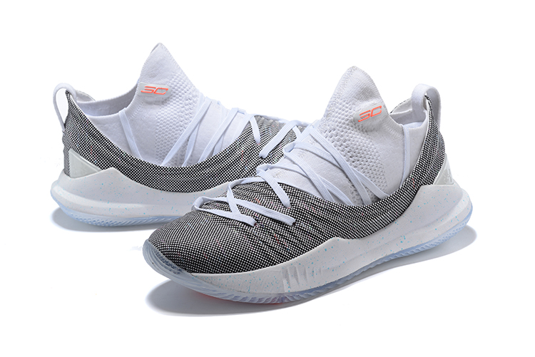 1c41882fb56c New Style Under Armour Curry 5 White Multicolor